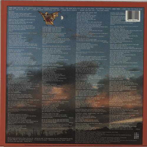 Kate Bush The Kick Inside vinyl LP album (LP record) US BUSLPTH660058