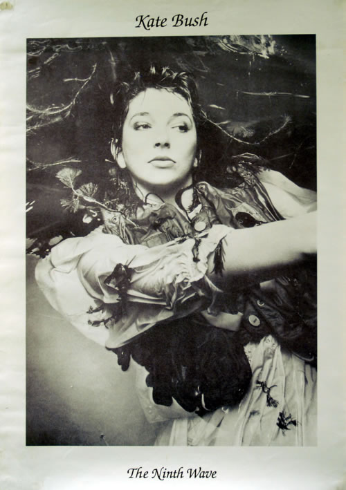 Kate Bush The Ninth Wave poster UK BUSPOTH618903