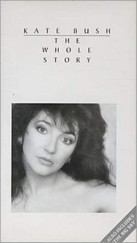 Kate Bush The Whole Story video (VHS or PAL or NTSC) UK BUSVITH303953