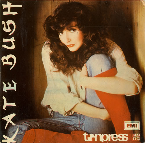 "Kate Bush Wuthering Heights - Blue 7"" vinyl single (7 inch record) Polish BUS07WU467732"