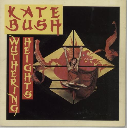 "Kate Bush Wuthering Heights - Demo - P/S 7"" vinyl single (7 inch record) UK BUS07WU27737"