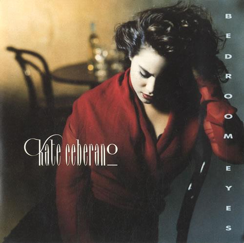"""Kate Ceberano Bedroom Eyes 7"""" vinyl single (7 inch record) UK KCE07BE585316"""