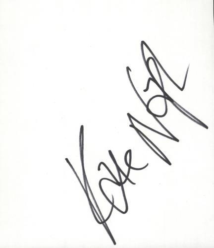 Kate Nash Autograph memorabilia UK KNHMMAU715589