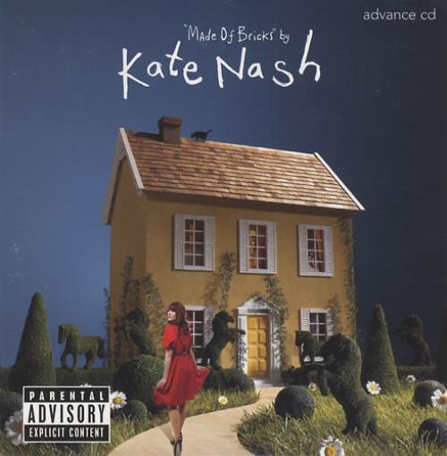Kate Nash Made Of Bricks CD album (CDLP) US KNHCDMA429767