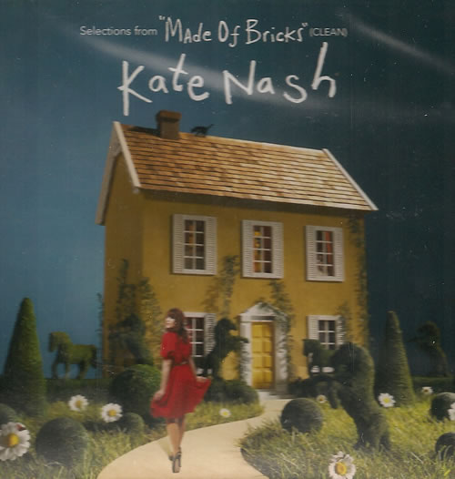 Kate Nash Selections From Made Of Bricks - Clean CD-R acetate US KNHCRSE486880