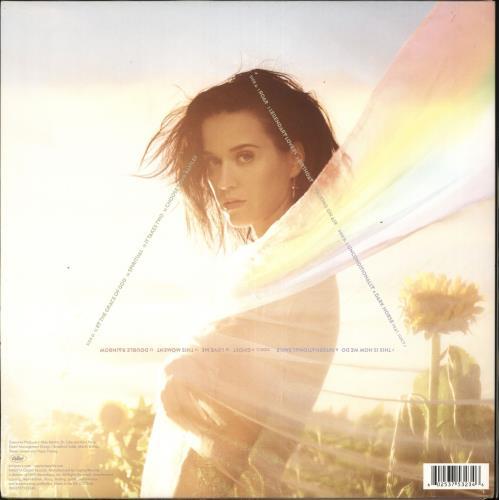 Katy Perry Prism 2-LP vinyl record set (Double Album) UK KT32LPR728032