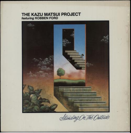 Kazu Matsui Standing On The Outside vinyl LP album (LP record) US KT9LPST585540