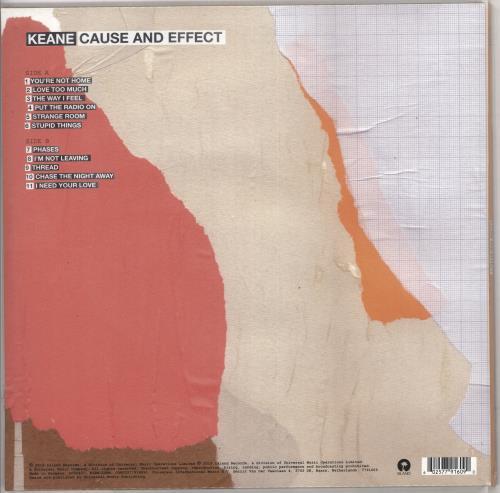 Keane (00s) Cause And Effect - 180gram Pink Vinyl - Sealed vinyl LP album (LP record) UK KANLPCA730095