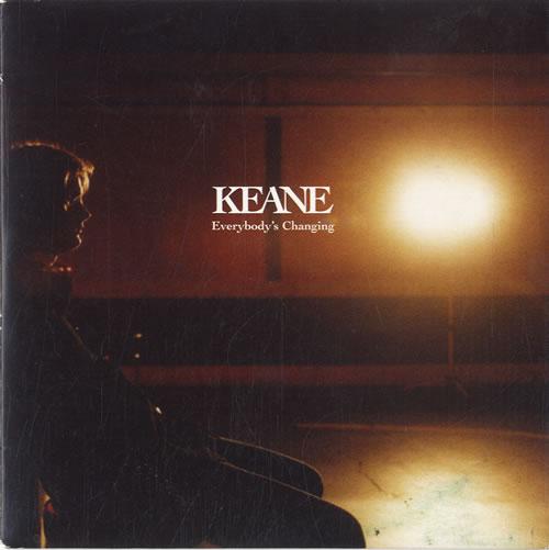 """Keane (00s) Everybody's Changing CD single (CD5 / 5"""") UK KANC5EV285832"""