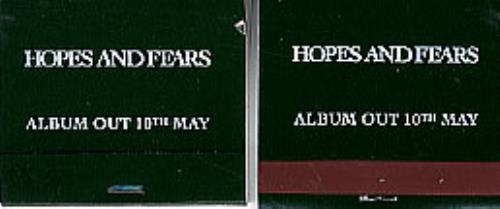 Keane (00s) Hopes And Fears memorabilia UK KANMMHO300564