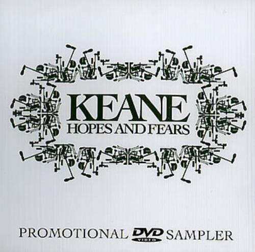 Keane (00s) Hopes And Fears DVD US KANDDHO353267