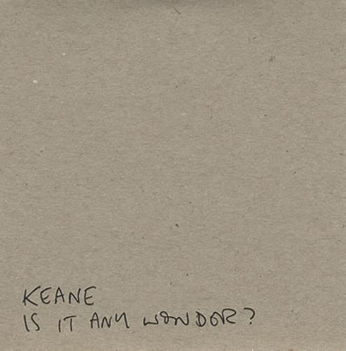 """Keane (00s) Is It Any Wonder? CD single (CD5 / 5"""") UK KANC5IS362857"""