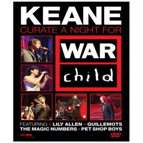 Keane (00s) Keane Curate A Night For War Child DVD UK KANDDKE438358