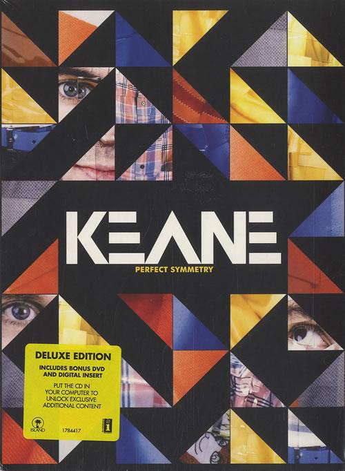 Keane (00s) Perfect Symmetry - Sealed 2-disc CD/DVD set UK KAN2DPE449165
