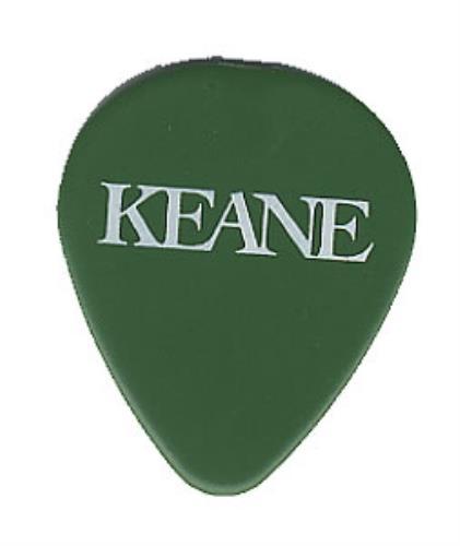 Keane (00s) Plectrum guitar pick UK KANGPPL366134
