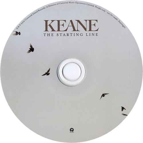 "Keane (00s) The Starting Line CD single (CD5 / 5"") UK KANC5TH604829"