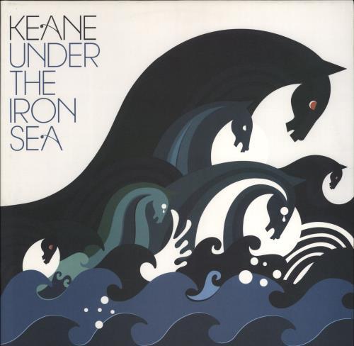 Keane (00s) Under The Iron Sea 2-LP vinyl record set (Double Album) UK KAN2LUN361344