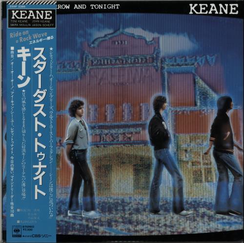 Keane (70s) Today, Tomorrow And Tonight + Obi vinyl LP album (LP record) Japanese K8BLPTO649093