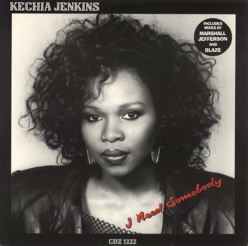 """Kechia Jenkins I Need Somebody 12"""" vinyl single (12 inch record / Maxi-single) UK KC512IN723616"""