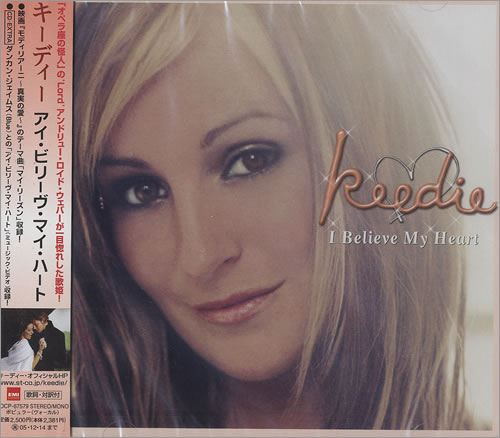 Keedie I Believe My Heart CD album (CDLP) Japanese KDUCDIB466557