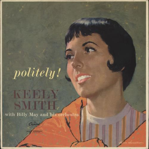 Keely Smith Politely! vinyl LP album (LP record) UK KE4LPPO475653