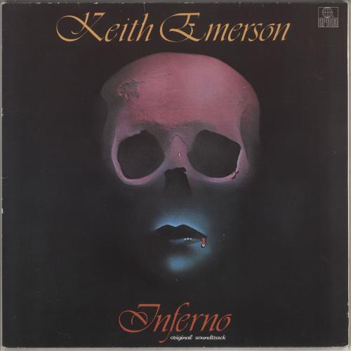 Keith Emerson Inferno vinyl LP album (LP record) UK KEMLPIN742377