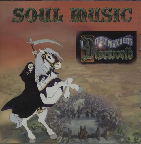 Keith Hopwood Soul Music - Terry Pratchett Discworld CD album (CDLP) UK OGICDSO663618