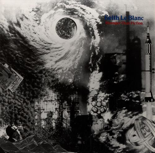 Keith Le Blanc Stranger Than Fiction vinyl LP album (LP record) German KKJLPST561593