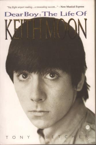 Keith Moon Dear Boy - The Life Of book UK K-MBKDE660915