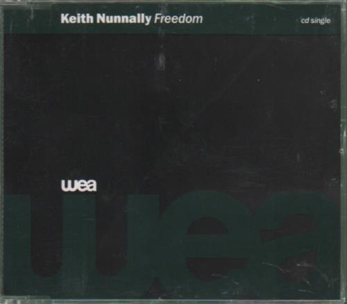 "Keith Nunnally Freedom CD single (CD5 / 5"") German KC4C5FR679019"