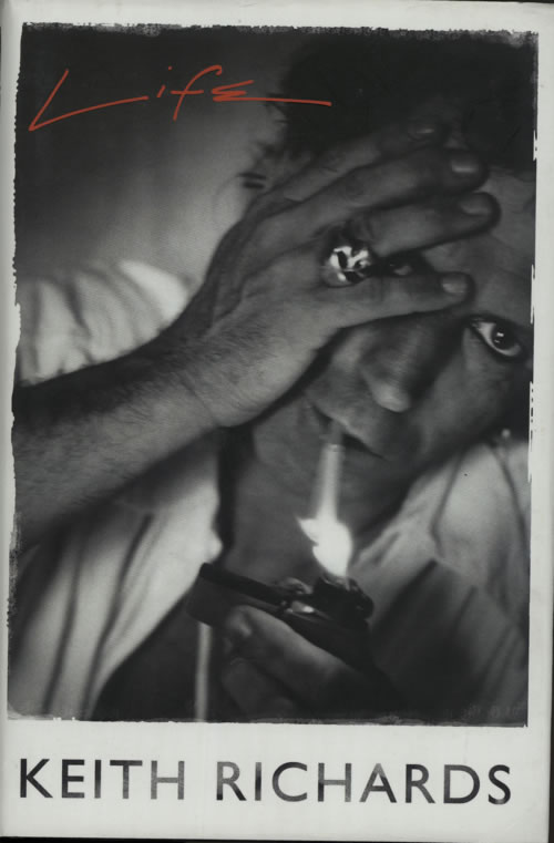 Keith Richards Life book UK KRIBKLI617151