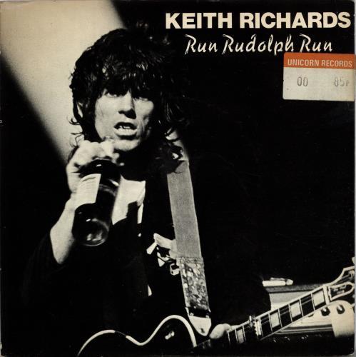 Keith Richards Run Rudolph Run P S Ex Uk 7 Quot Vinyl
