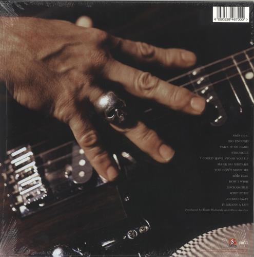 Keith Richards Talk Is Cheap - 180gm Red Vinyl - Sealed vinyl LP album (LP record) UK KRILPTA717551
