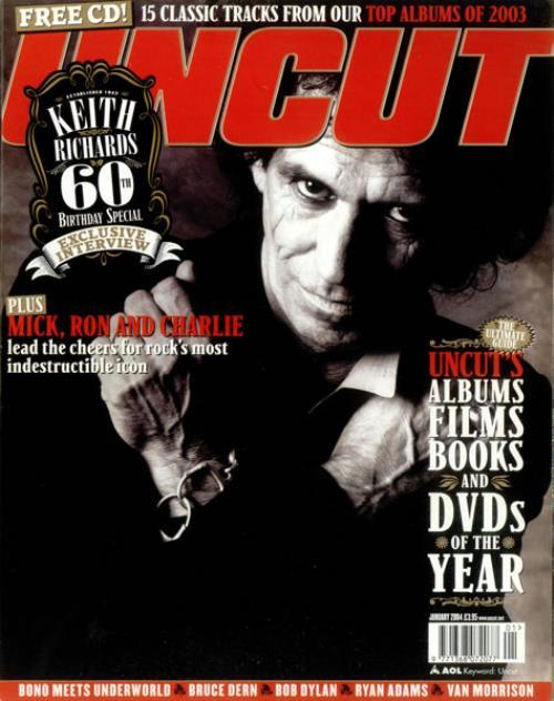 Keith Richards Uncut - Issue 80 magazine UK KRIMAUN446650