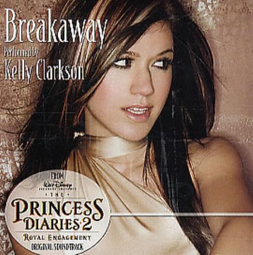 """Kelly Clarkson Breakaway CD single (CD5 / 5"""") US KCRC5BR296111"""