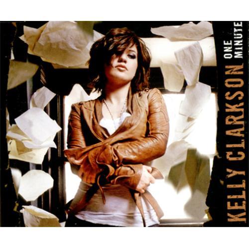 """Kelly Clarkson One Minute CD single (CD5 / 5"""") Australian KCRC5ON413142"""