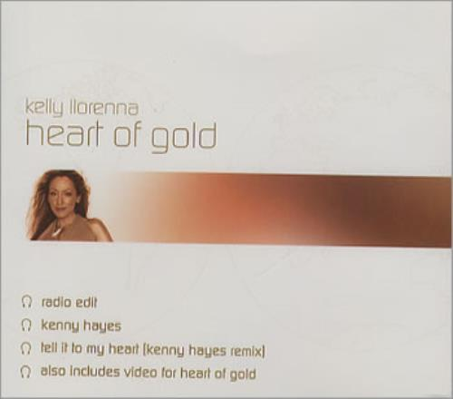 "Kelly Llorenna Heart Of Gold CD single (CD5 / 5"") UK KLNC5HE354348"