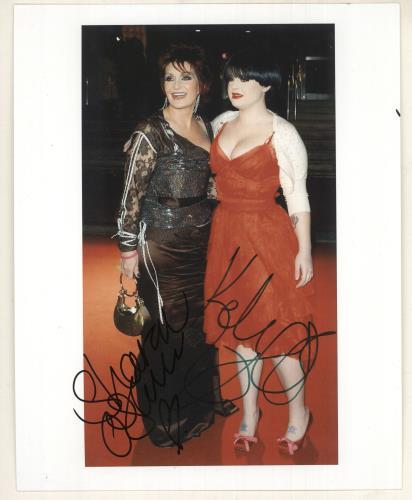 Kelly Osbourne Autographed Photograph photograph UK KOZPHAU734393