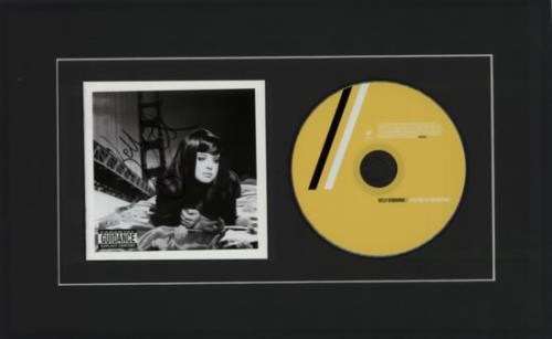 Kelly Osbourne Sleeping In The Nothing - Autographed Display memorabilia UK KOZMMSL608433