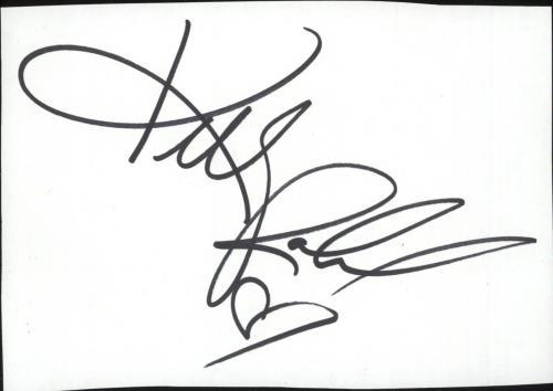 Kelly Rowland Autograph memorabilia UK KLWMMAU737567