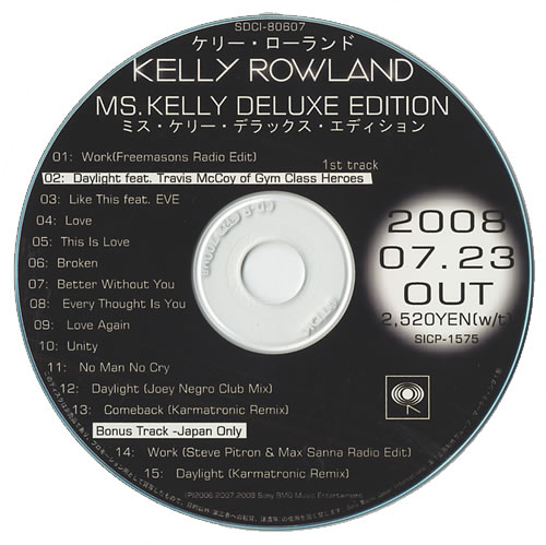 Ms. Kelly: deluxe edition digital ep by kelly rowland: napster.