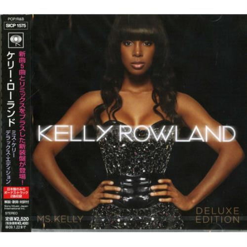 Kelly Rowland Ms. Kelly Deluxe Edition CD album (CDLP) Japanese KLWCDMS448631
