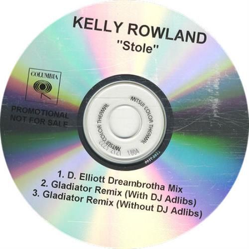 Kelly Rowland Stole CD-R acetate US KLWCRST230598