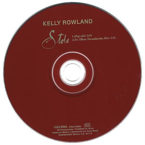 """Kelly Rowland Stole CD single (CD5 / 5"""") Mexican KLWC5ST253658"""
