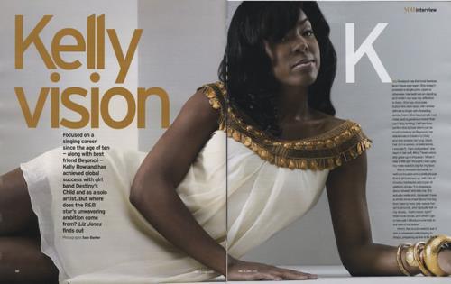 Kelly Rowland You Magazine magazine UK KLWMAYO405662