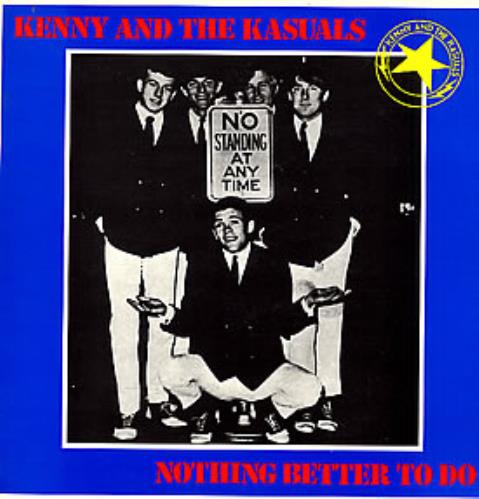 Kenny And The Kasuals Nothing Better To Do vinyl LP album (LP record) French KK2LPNO261908