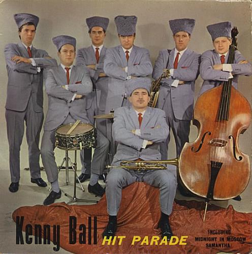 "Kenny Ball Hit Parade 7"" vinyl single (7 inch record) UK KB-07HI368009"