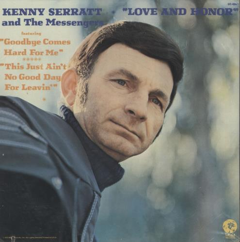 Kenny Serratt & The Messengers Love And Honour vinyl LP album (LP record) US ZV9LPLO720434