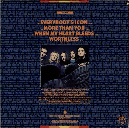 "Kerosene Everybody's Icon 12"" vinyl single (12 inch record / Maxi-single) UK KGV12EV699063"