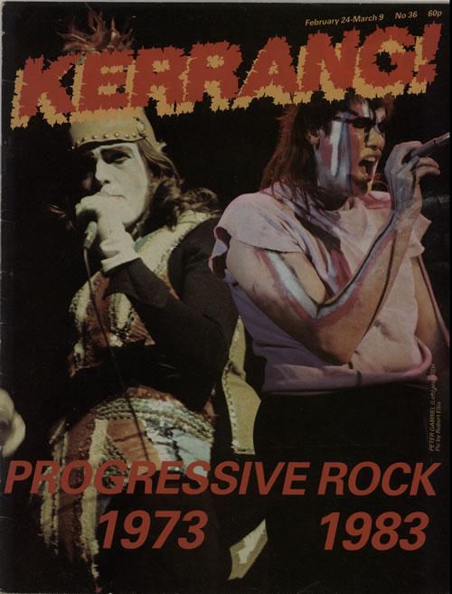 Kerrang! Magazine Kerrang! Magazine - Feb 83 magazine UK K-ZMAKE641615